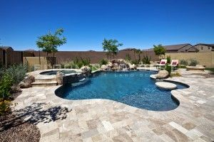 Ramada Pergola Arbor Phoenix Landscape Idea Play Pool And Spa