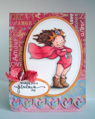 Alice Wertz: Alice's {Little} Wonderland – Superduper Girl - 1/23/11.  (Pin#1: Mo Manning. Pin+: Children: Girls; Coloring Layouts).