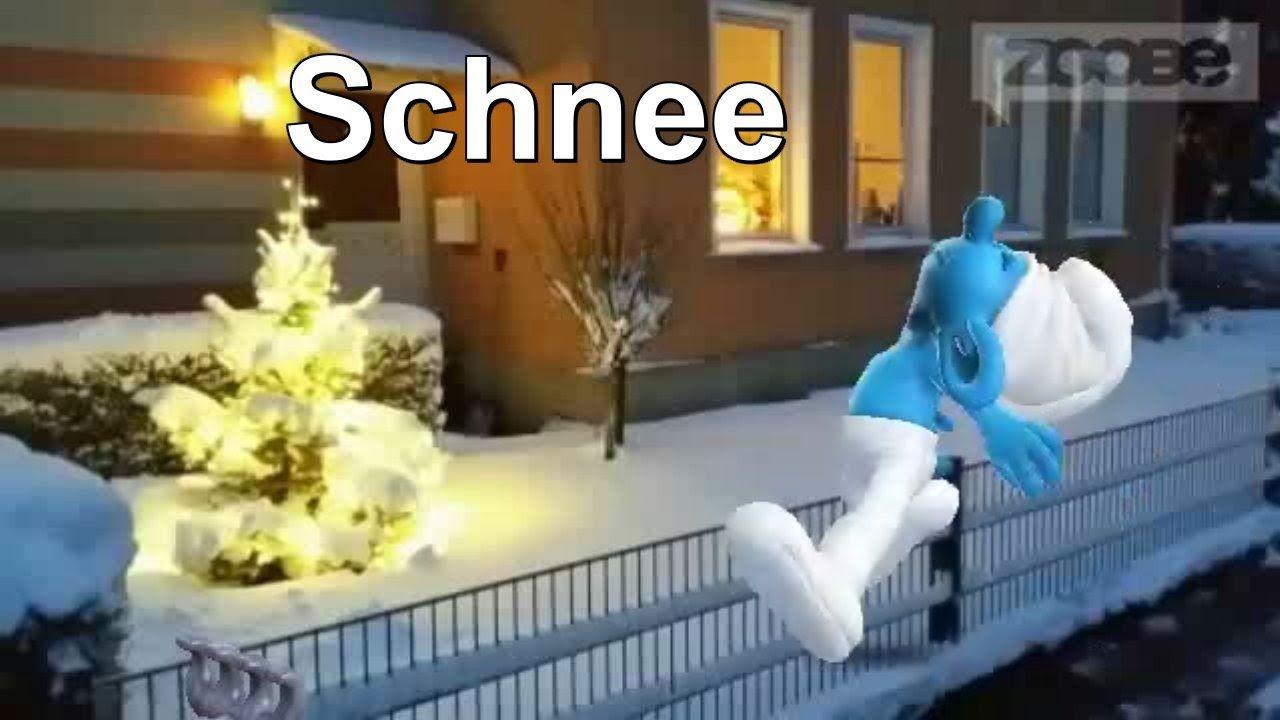 Schlumpf schnee weihnachten weihnachtszeit urodziny - Schlumpf weihnachten ...