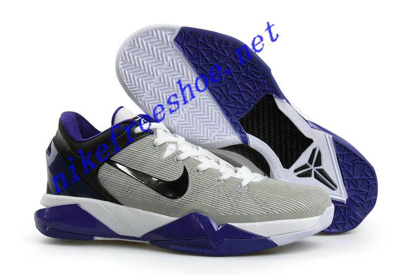 designer fashion 183d6 f1a62 Nike Zoom Kobe VII Colorways Grey Black Purple 488371 100
