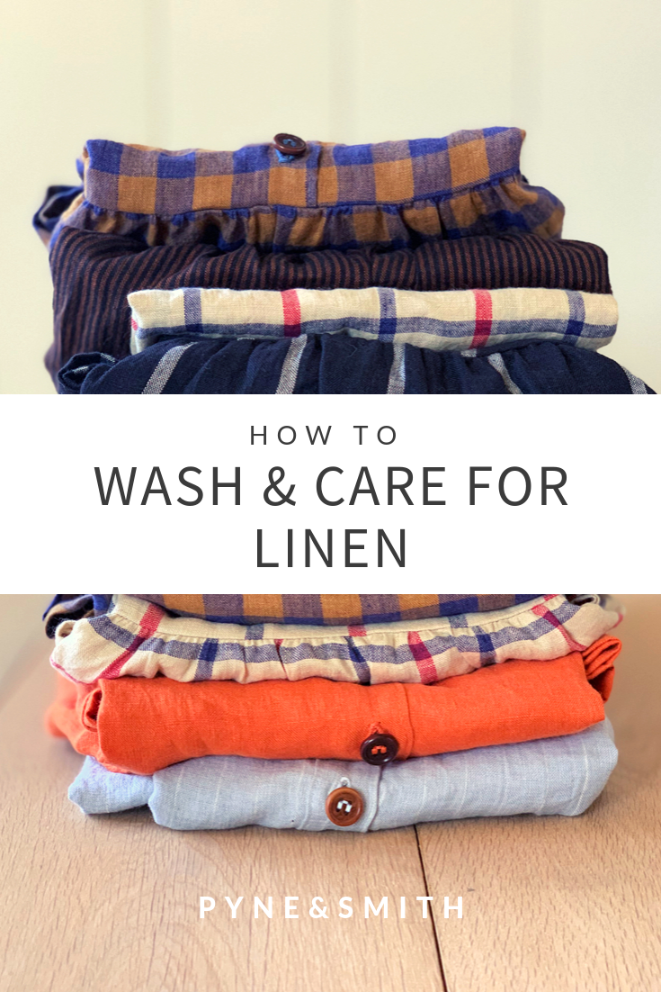 How To Wash Care For Linen Clothes Pyne Smith Clothiers Linen Clothes Sustainable Fashion Clothes Vivid Linen