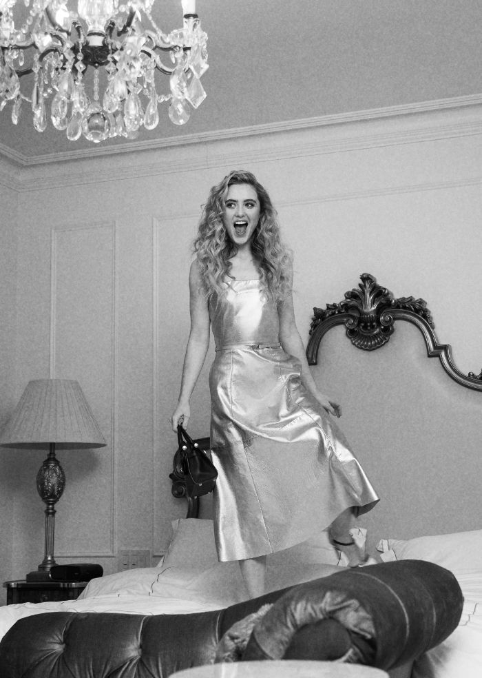 Getting Ready With Kathryn Newton for the Ralph Lauren ...