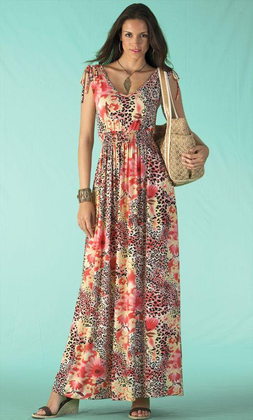 Long Summer Dresses For Women Photo Album - Reikian