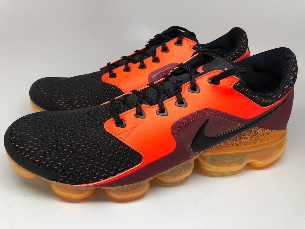 985c11c9f27 Nike Air Max VaporMax CS Total Crimson Black Laser Orange AH9046-800 size  12  Nike  RunningCrossTraining