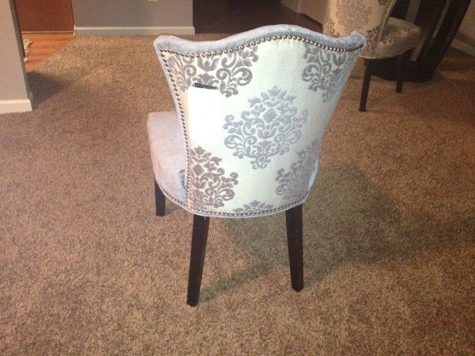 Cynthia Rowley At Home Goods Damask Back Chair. Great Partner For The  Chevron Back Chair
