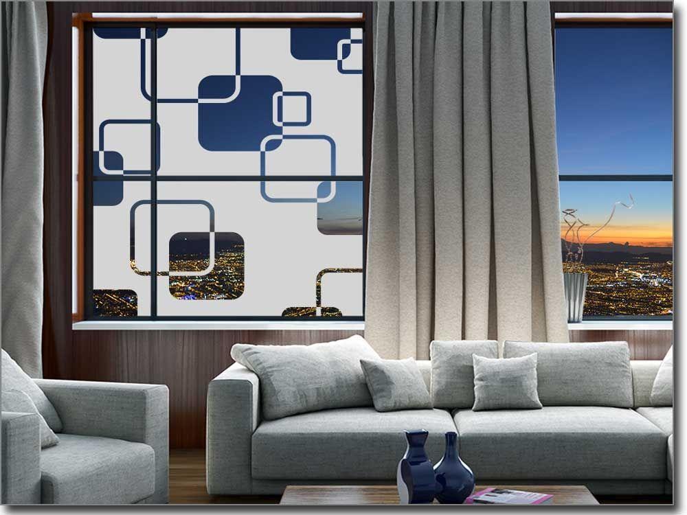 Retrofolie für Fenster Retro - folie für badezimmerfenster