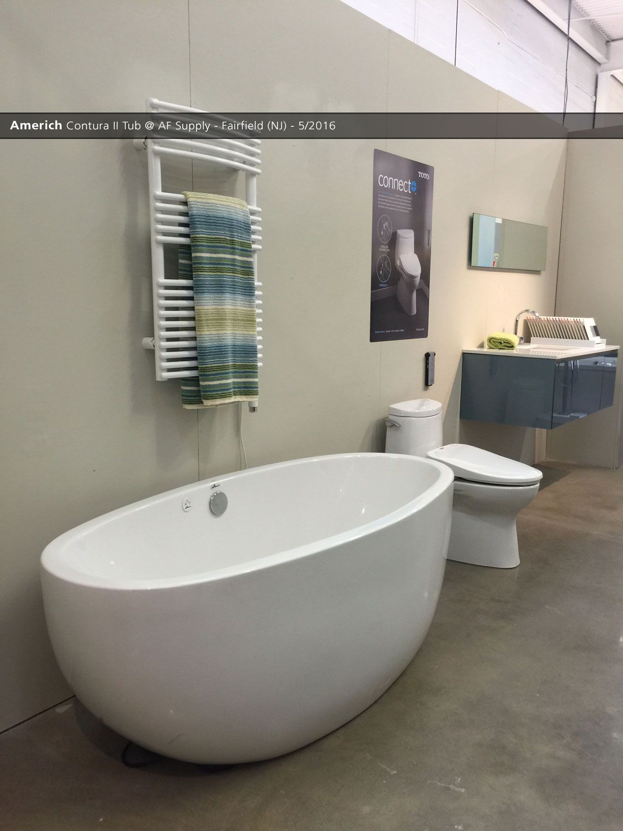 Americh Contura II Tub @ AF Supply - Fairfield (NJ) - 5 ...