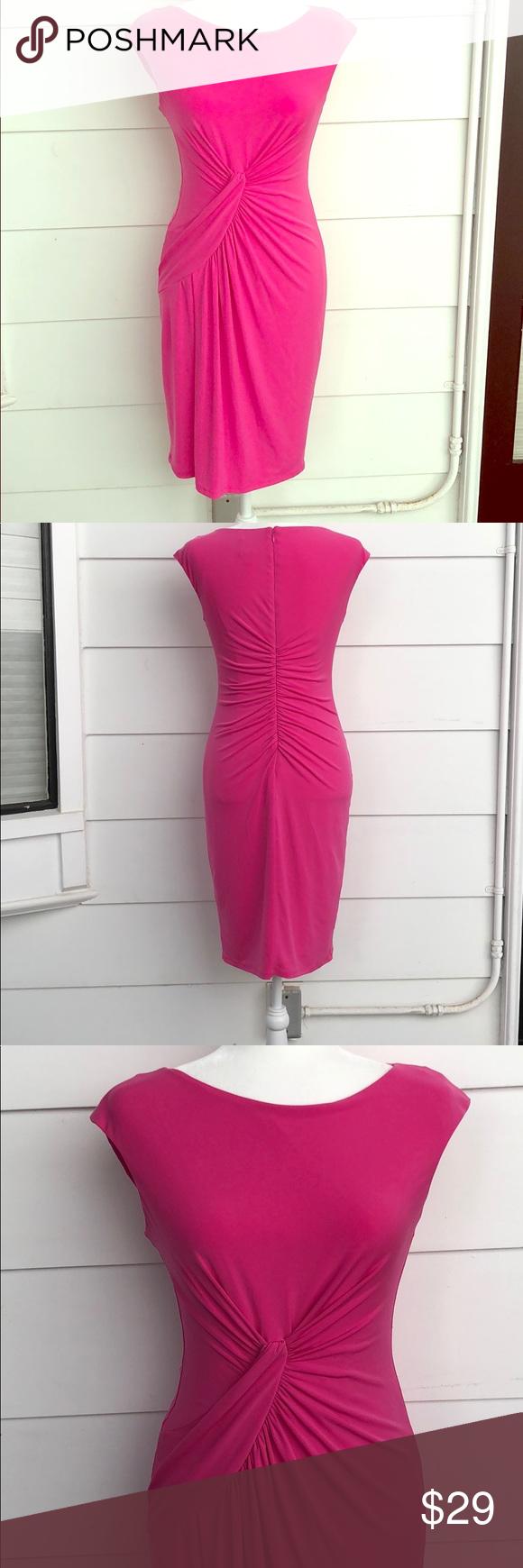 Vince Camuto Beautiful Spring Pink Dress Pink Dress Form Pink Dress Dresses [ 1740 x 580 Pixel ]