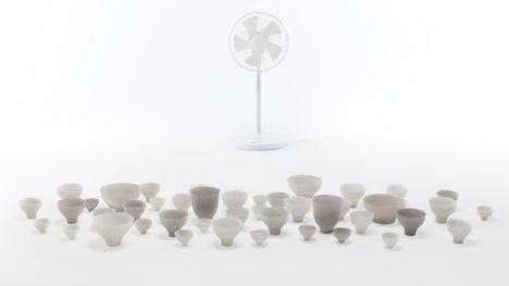 Shivering Bowls by Nendo - 최고의 연출
