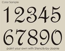 Image Result For Tattoo Number Fonts