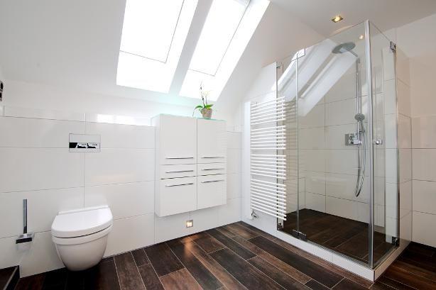 Bad - weiss mit Holz | Badezimmer | Pinterest | Bäder, Weiss und Holz