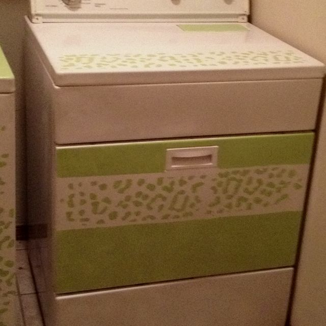 My dryer after being painted