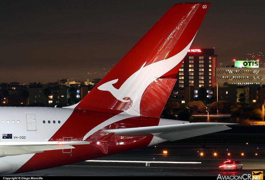 A380 Qantas tail | QANTAS AIRLINES | Qantas airlines