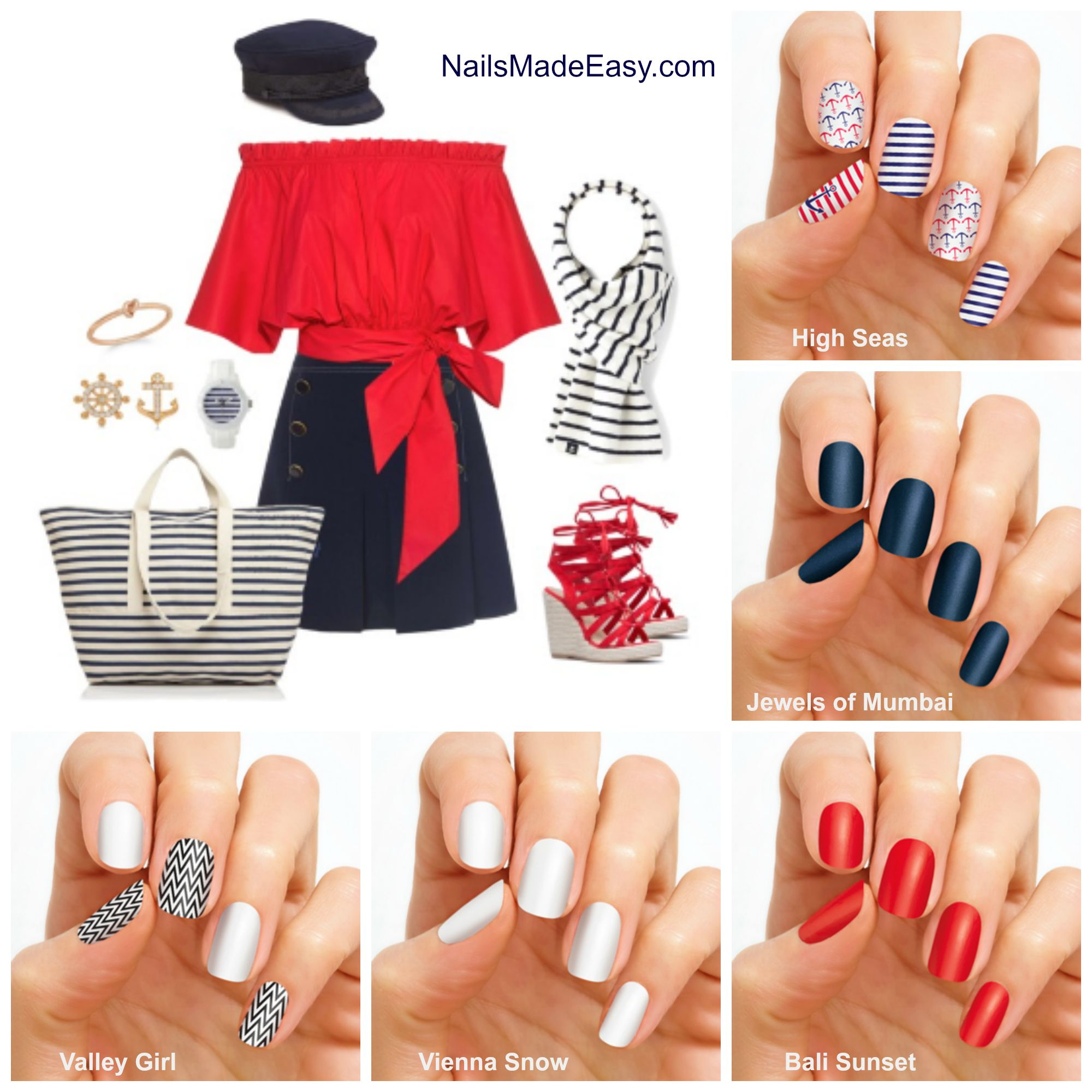 No matter the outfit, Color Street nail polish strips has you ...
