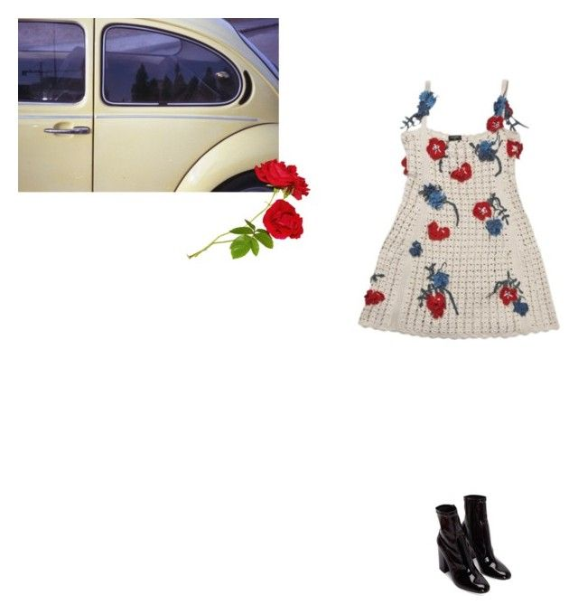 """""""floral"""" by danamaybe ❤ liked on Polyvore featuring Chanel"""