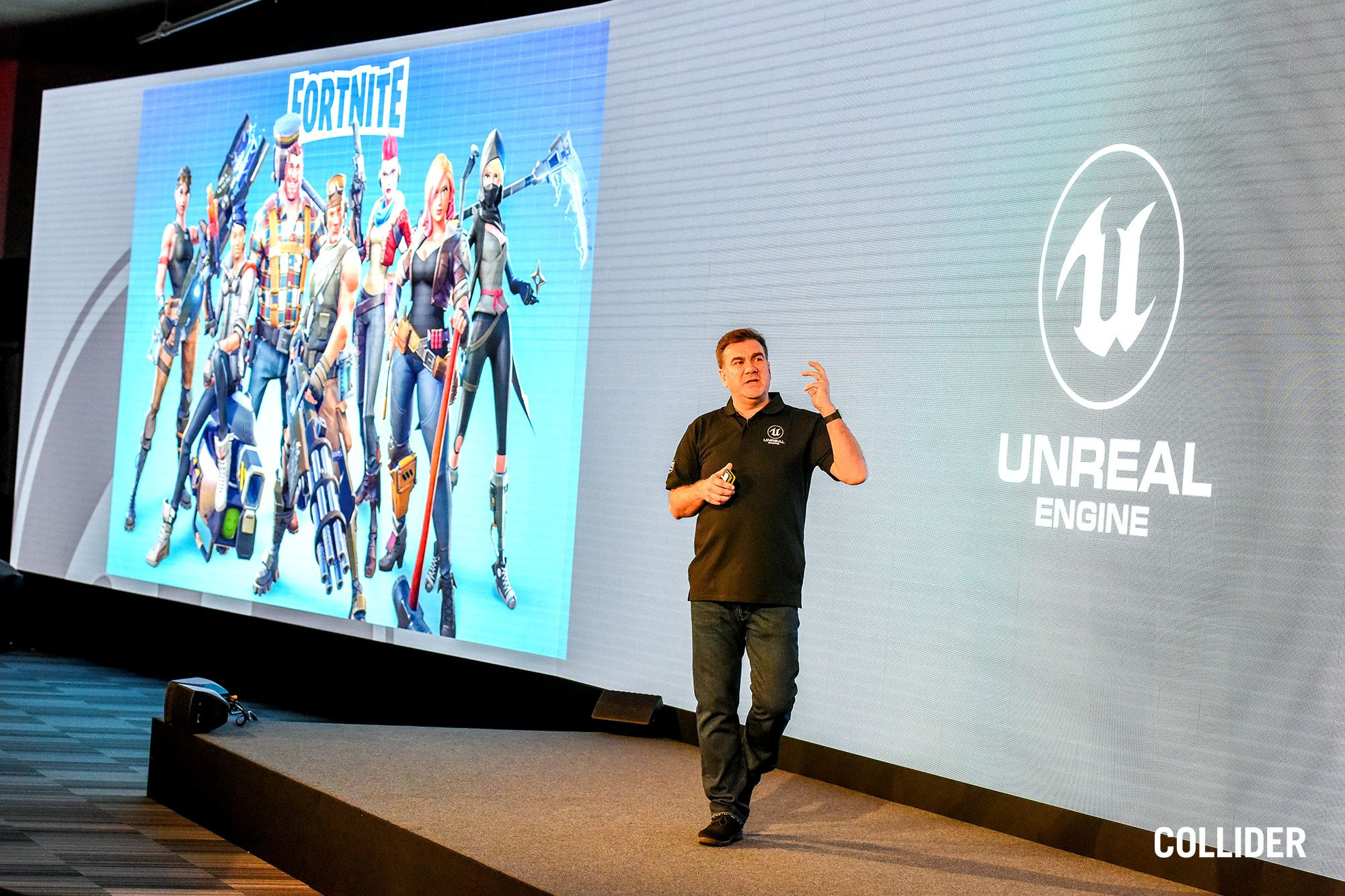 Conference Stage - Collider Event Staging for Unreal Engine for