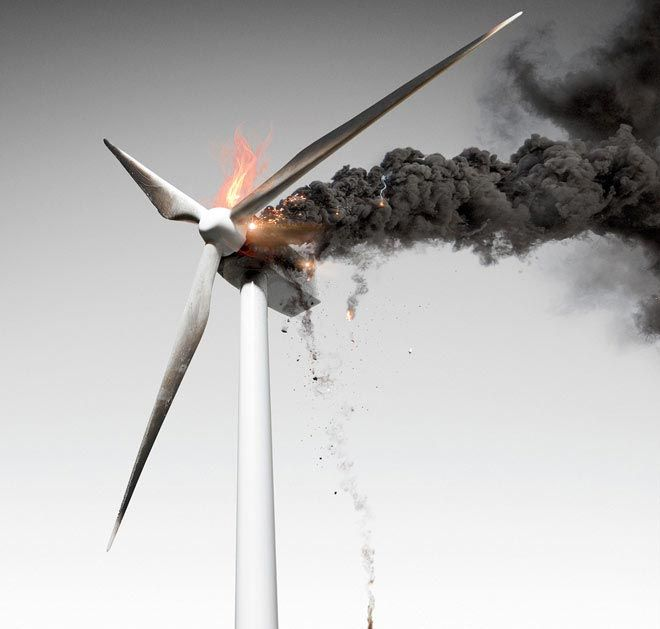 Image result for wind turbines awful