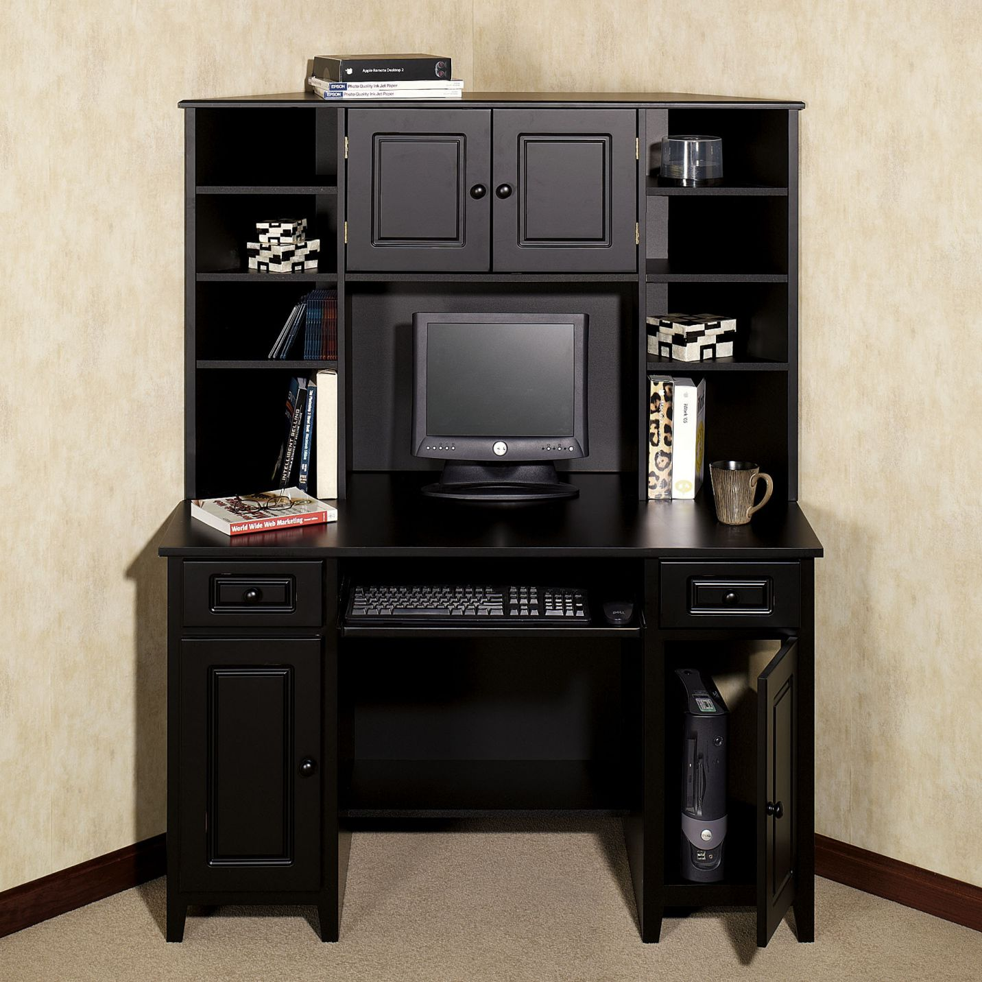 Bon Black Computer Desk Hutch   Home Office Furniture Ideas Check More At  Http://michael Malarkey.com/black Computer Desk Hutch/