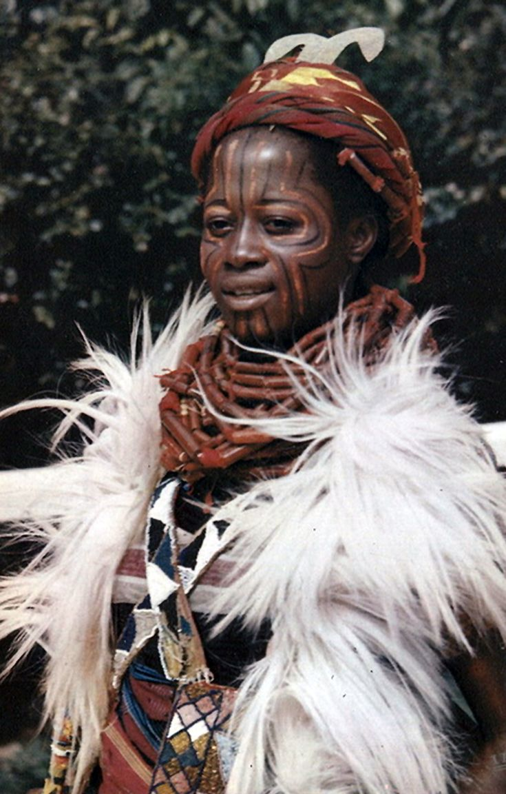 NIGERIA girl from Northern Nigeria (Item number
