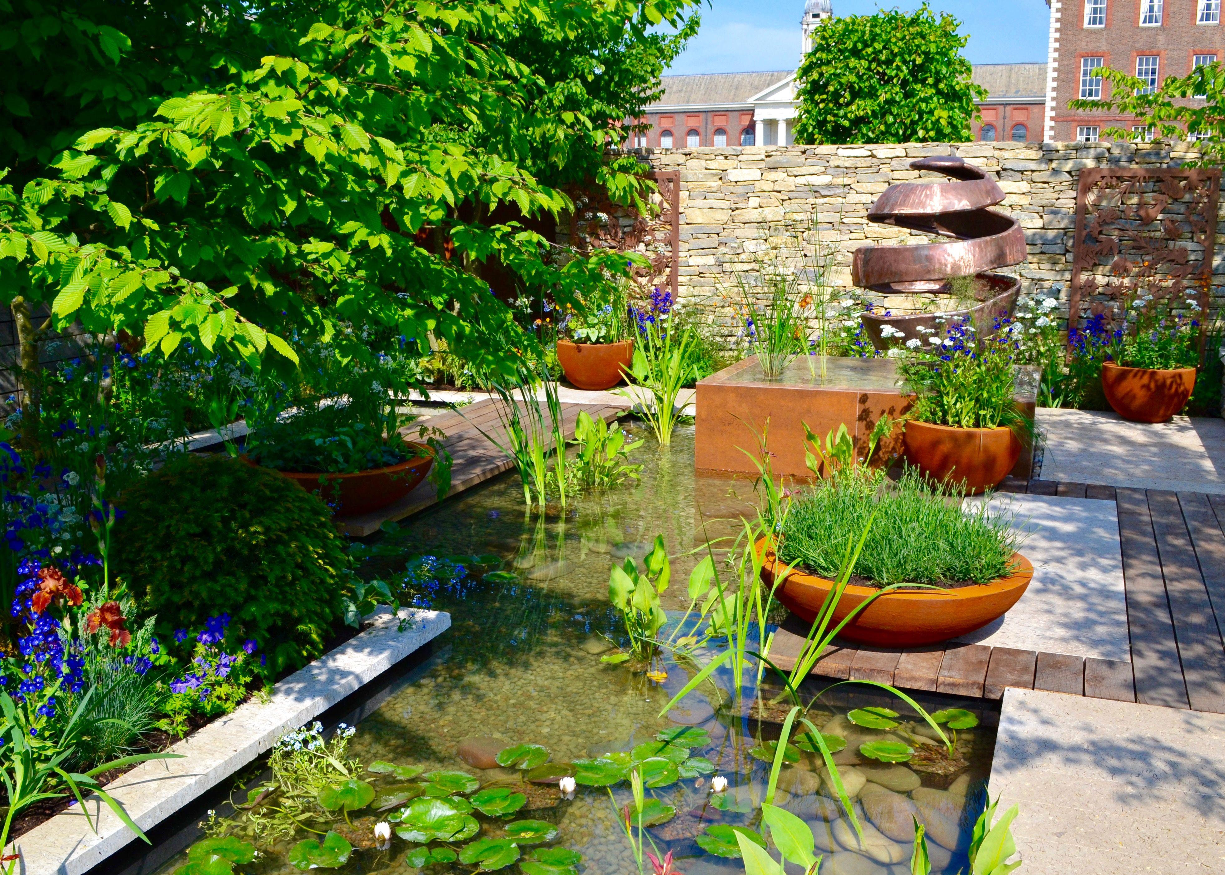 The Silent Pool Gin Garden, winner of a SilverGilt Medal