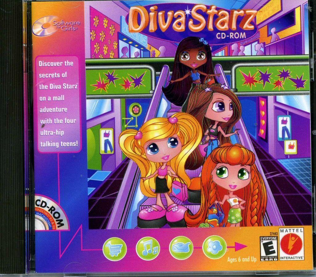 109.11240 Diva Starz video game PC Games Video
