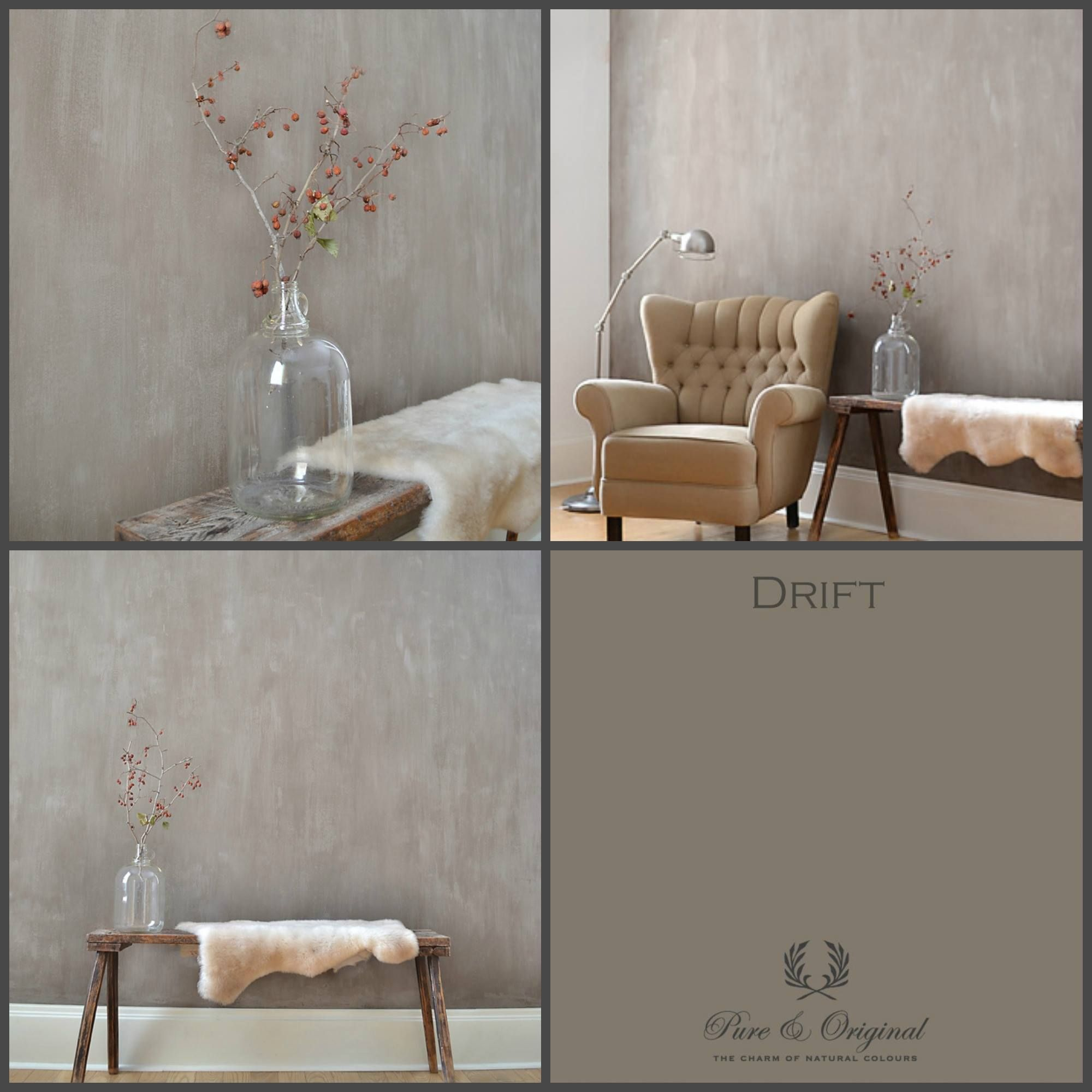 credits home interiors by agnes fresco limepaint color drift pure original authentic. Black Bedroom Furniture Sets. Home Design Ideas