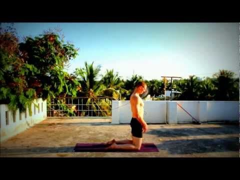 kapotasana and dubstep on the rooftops of mysore with matt