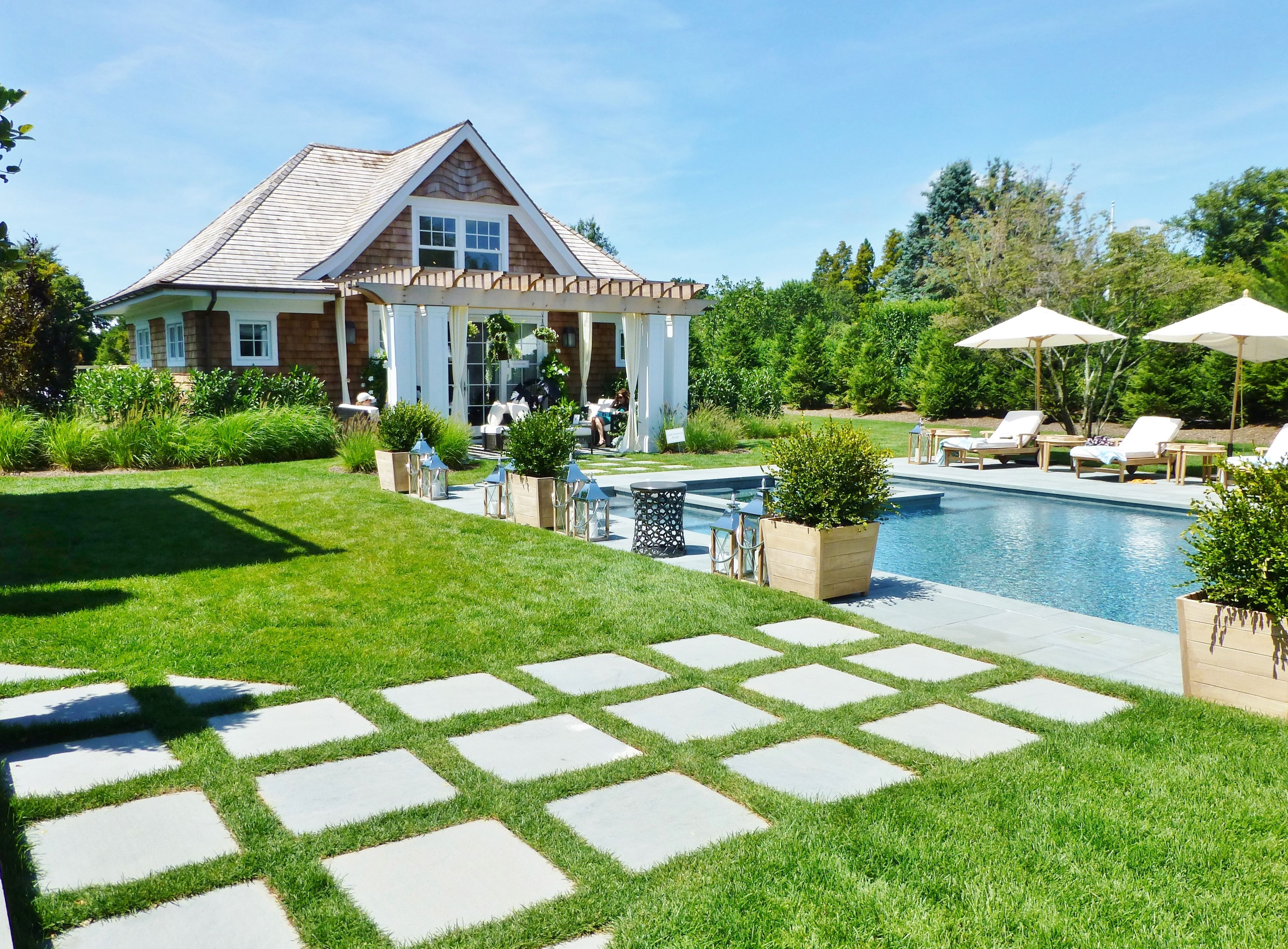 The 2014 Hampton Designer Showhouse: The Outdoor Living Spaces