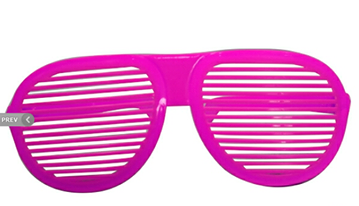 Giant Shutter Shades Mnm012 Price Rs 150 This Item Is Also Available In Green Silver And Golden Color Shutter Shades Golden Color Party Props
