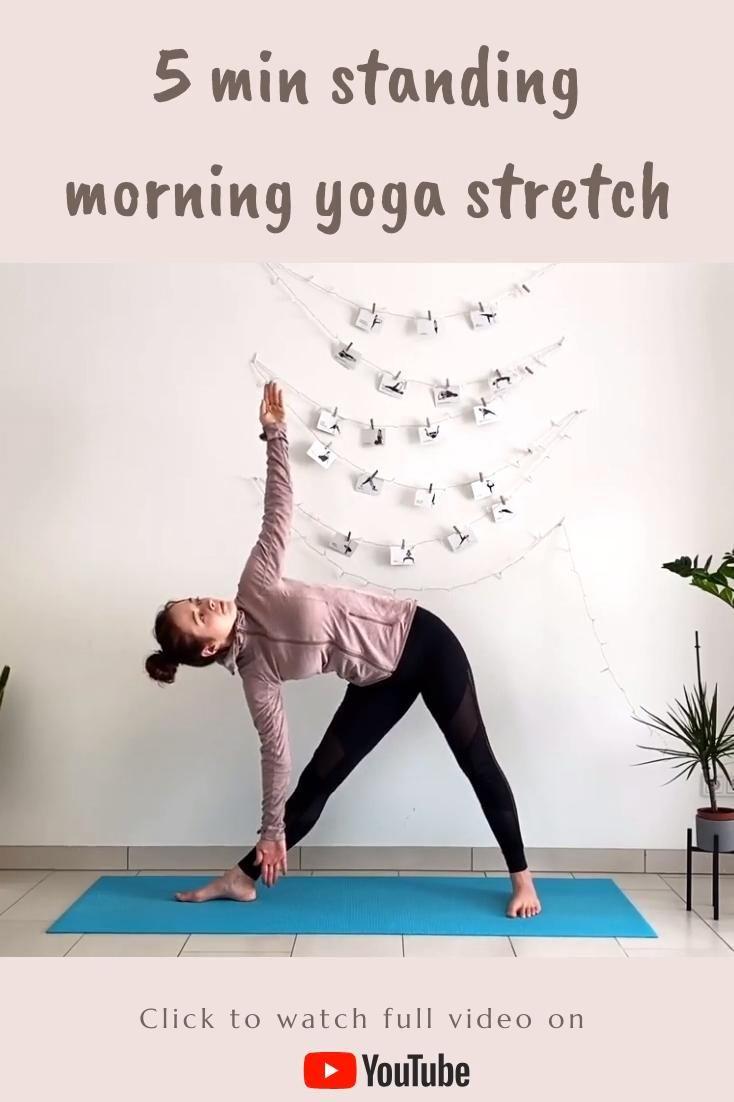 5 min Standing Morning Yoga Stretch