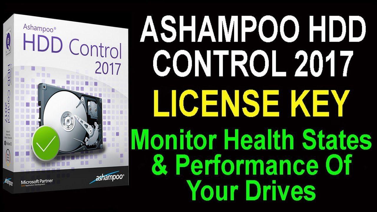 ashampoo hdd control 3 license key