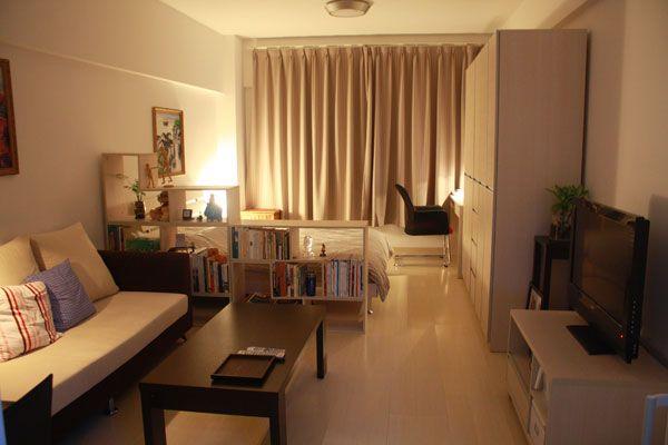 30 Best Small Apartment Design Ideas Ever ห องนอนขนาดเล ก ไอ
