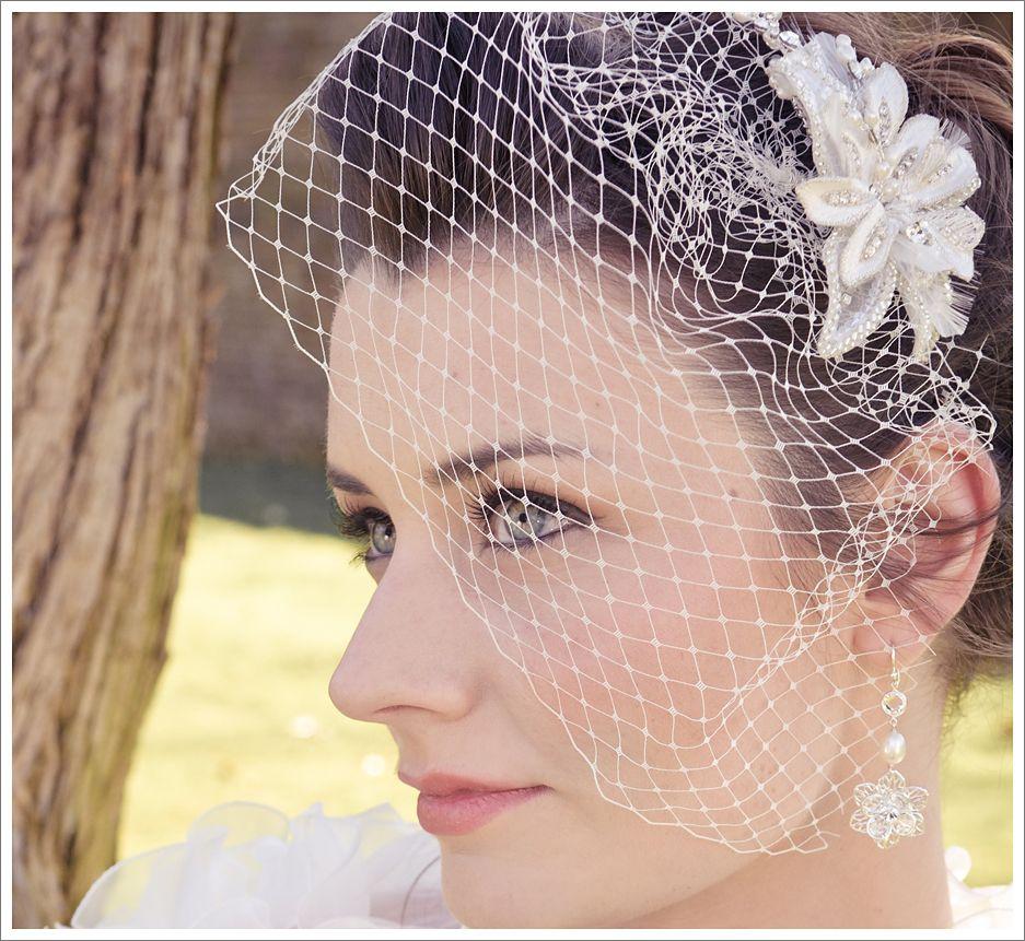 bridal accessories birdcage vail | plan a kent wedding | my wedding