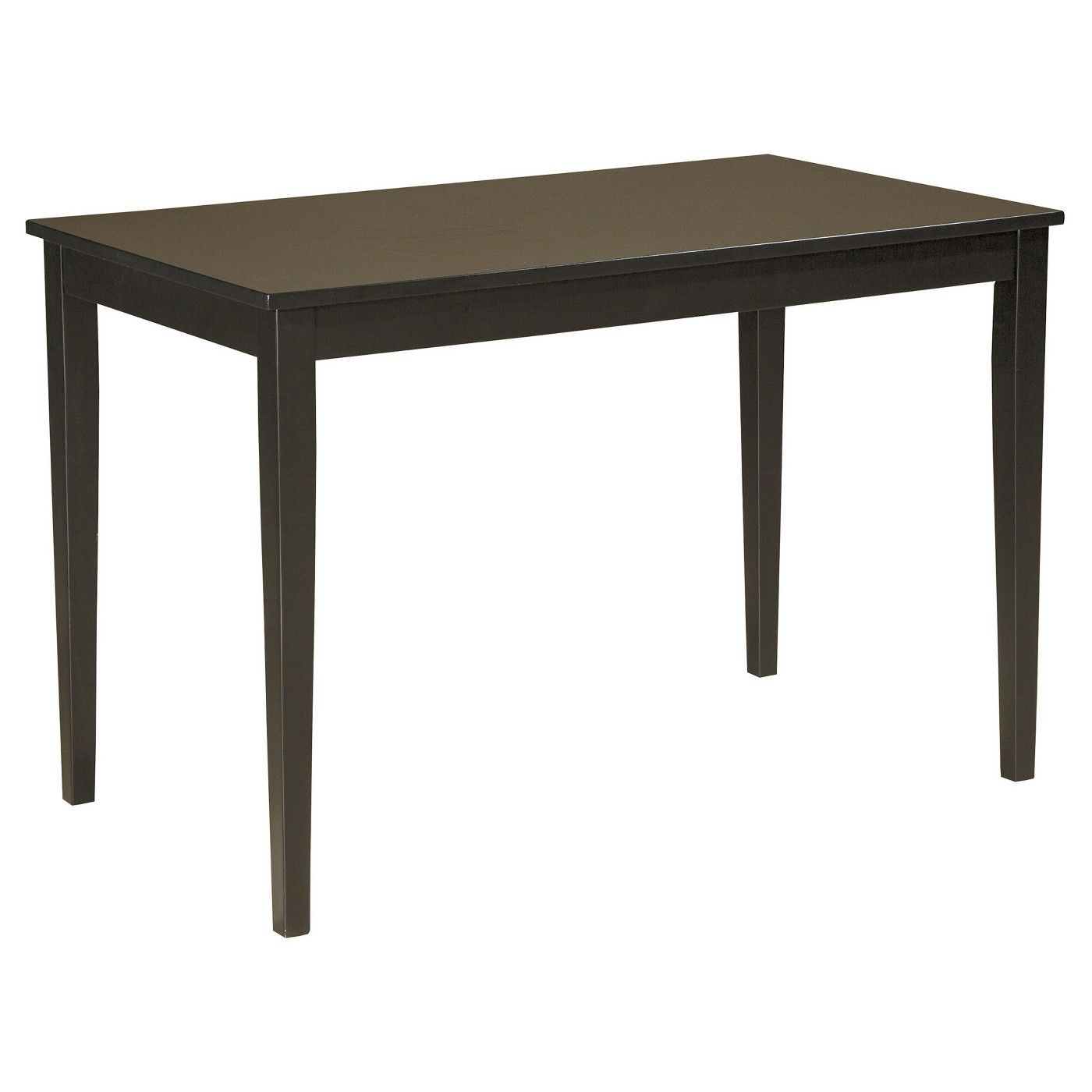 Kimonte rectangular dining room table woodbrown signature design
