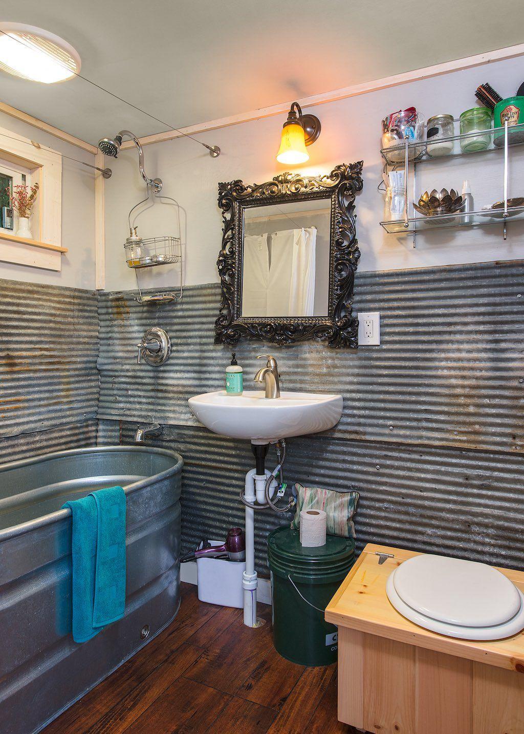Little Lou Tiny House Bathtub Tiny House Bathroom Tiny