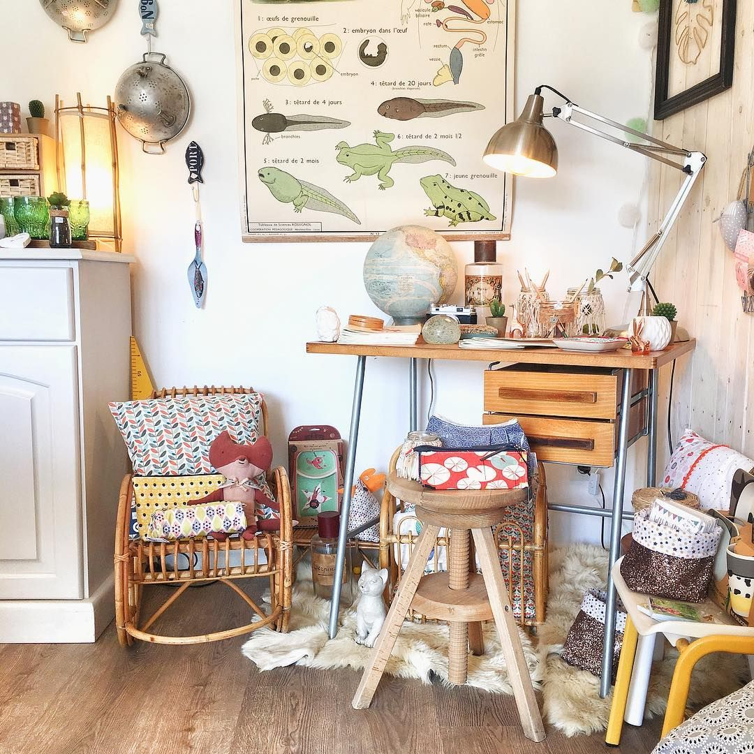 Attention Rentree Imminente Et Chez Grisgroseille Shop On Est Pret Rentree Decovintage Vintageforkids Decoaddict In In 2020 Decor Furniture Home Decor