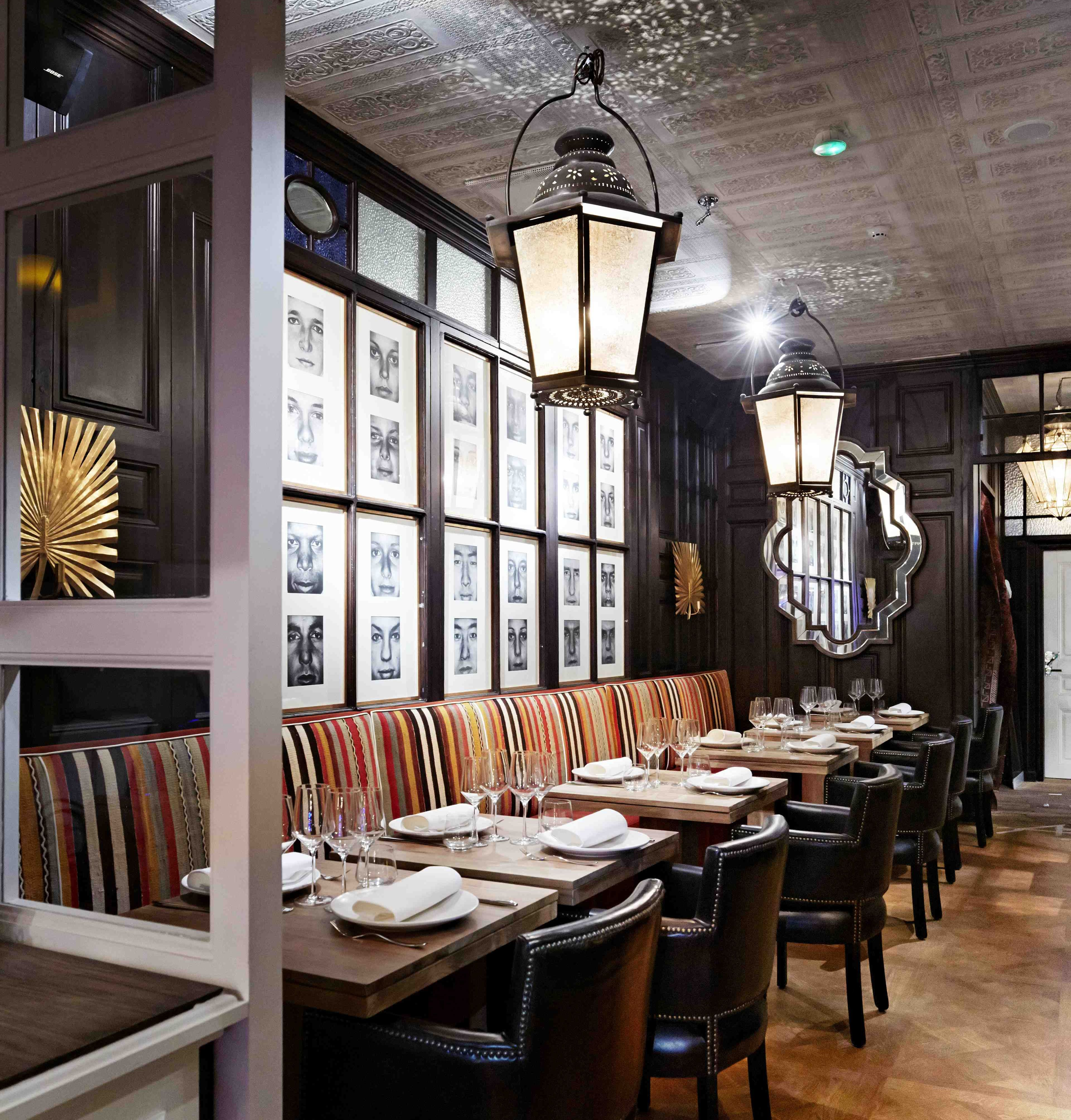 Modern Take On Classic Dining Remembers Its Manners Restaurant Interiors IdeasRestaurant Bar