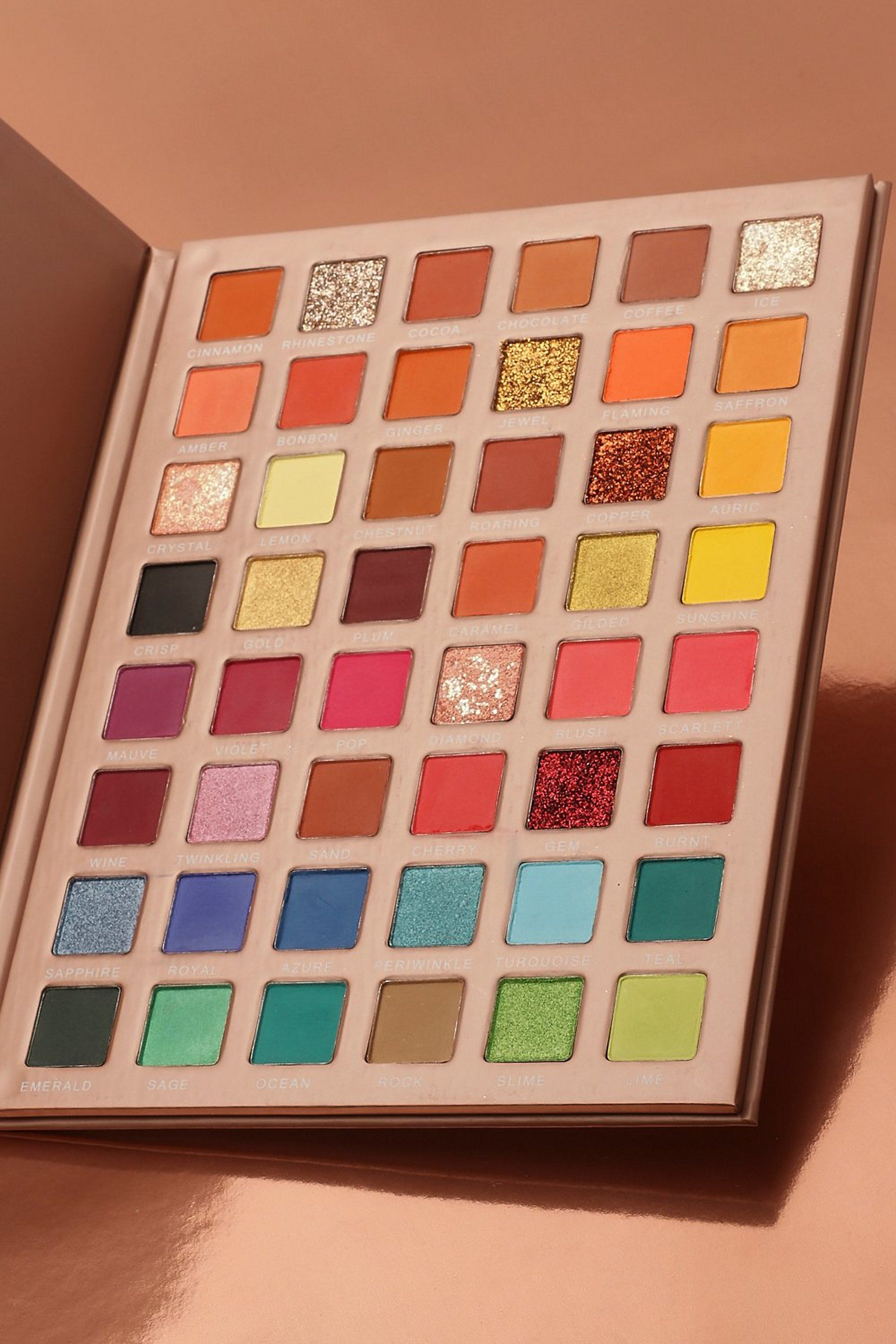 Boohoo Spectrum Eyeshadow Palette Boohoo Eyeshadow Palette Eyeshadow Colourpop Eyeshadow