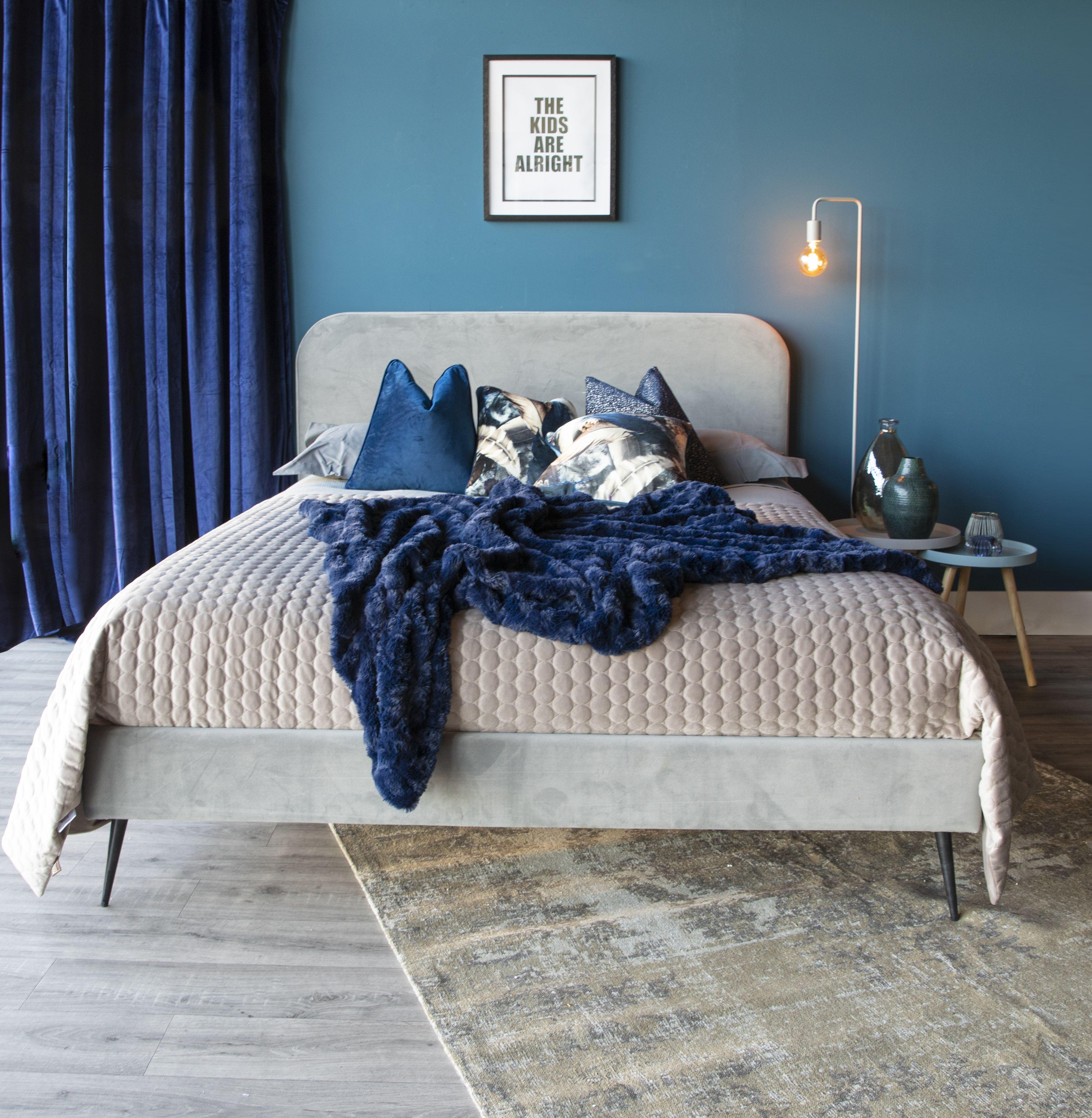 Floyd Light Grey 5' Bed Frame in 2020 Grey bed frame