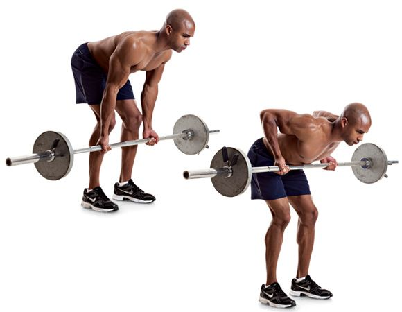 The 10 Best Back Workout Moves Barbell Row Exercises
