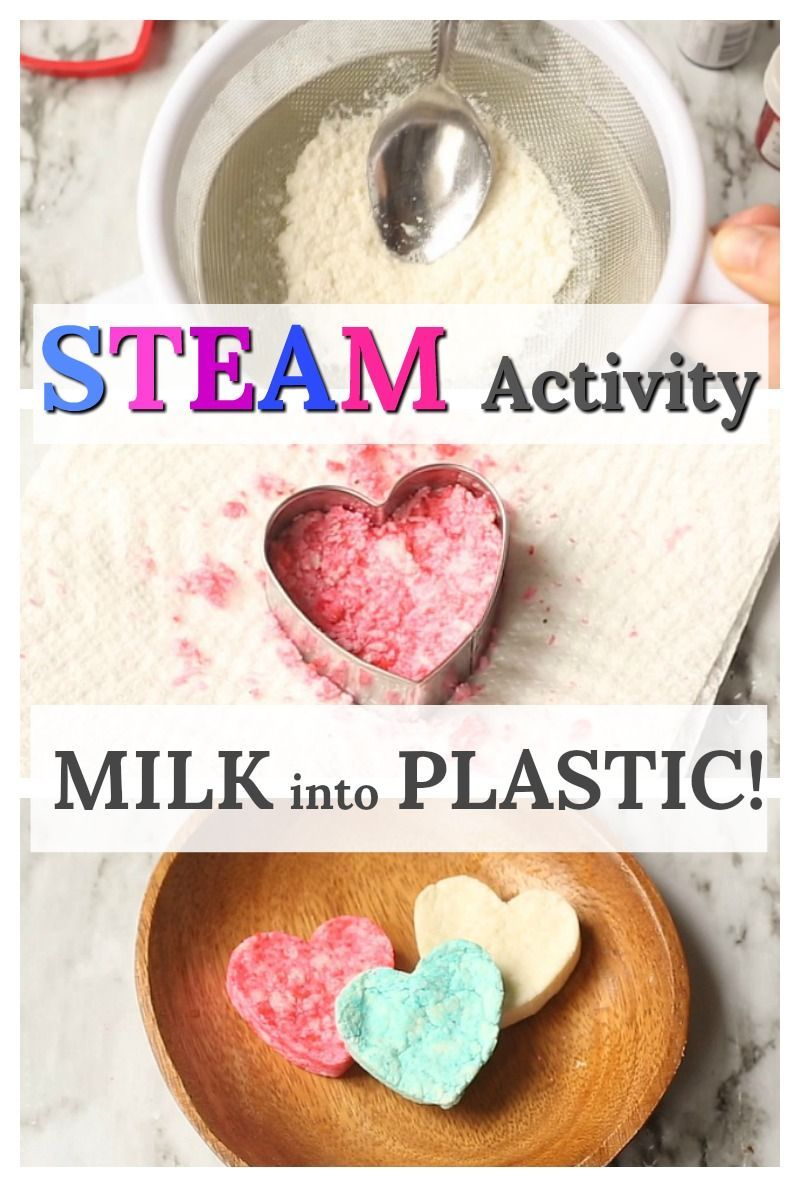 Photo of Turn Milk into Plastic! science experiments for kids, at home science, kids activities