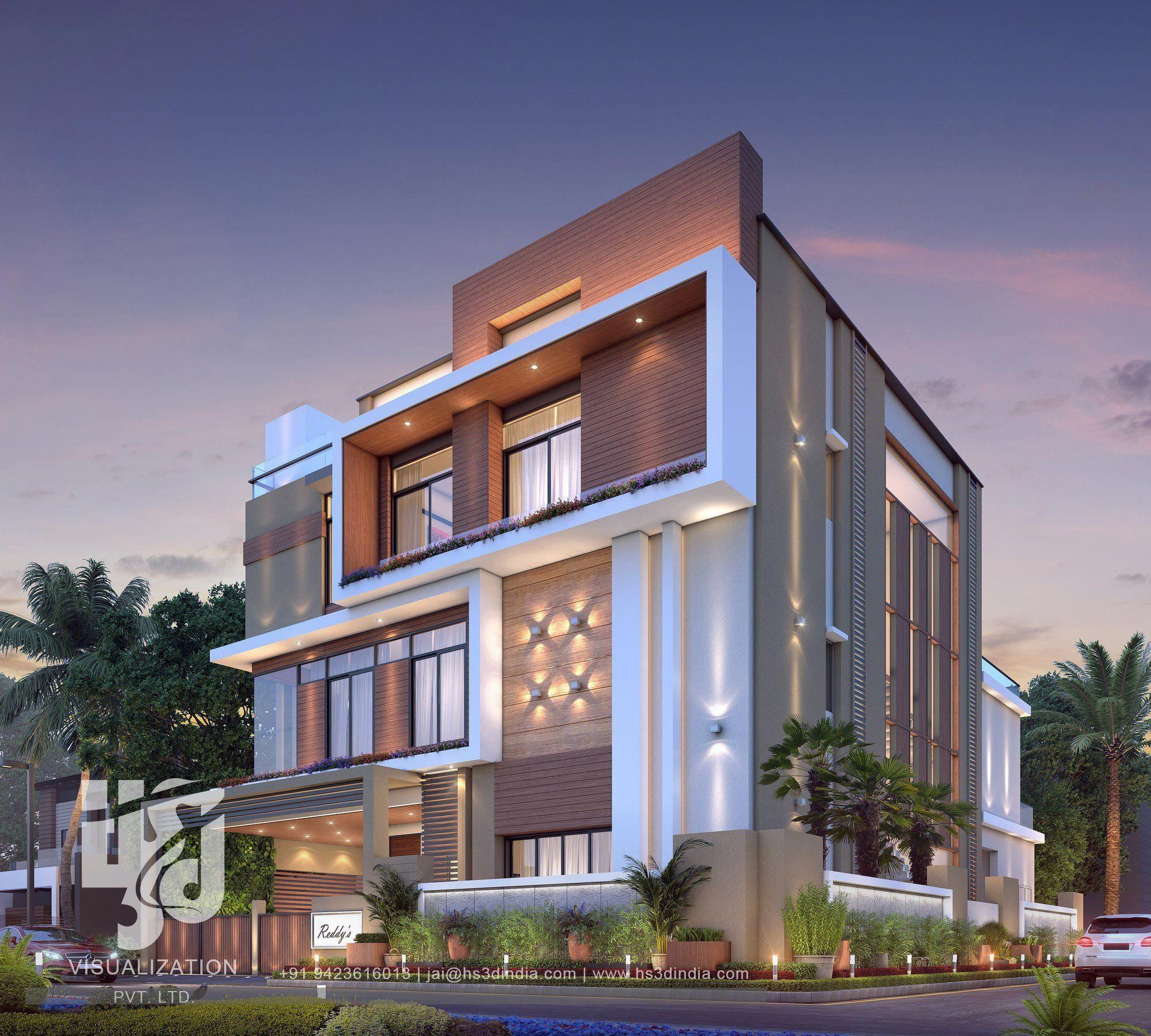 Modern Home Elevation Design: #IsInteriorDesignInHighDemand Code: 6663111789