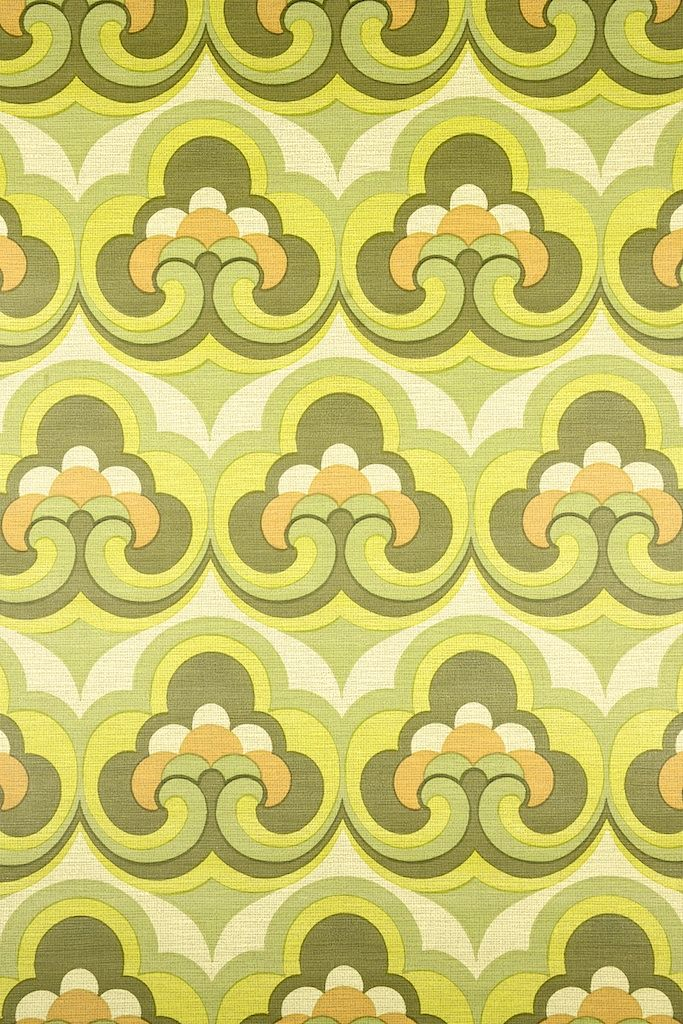 Vintage Retro Geometric Wallpaper