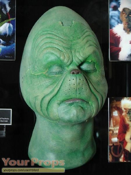 How the Grinch Stole Christmas original make-up prosthetics