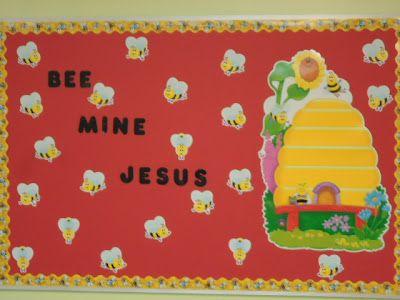 """""""Bee Mine Jesus"""" Bulletin Board"""