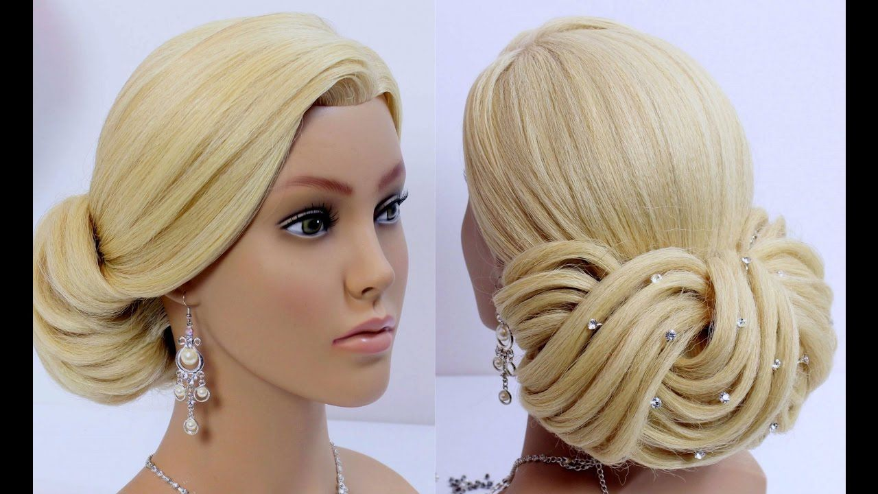 How To Quick Updo Hairstyle For Long Medium Hair Easy Hairstyles Tutorial
