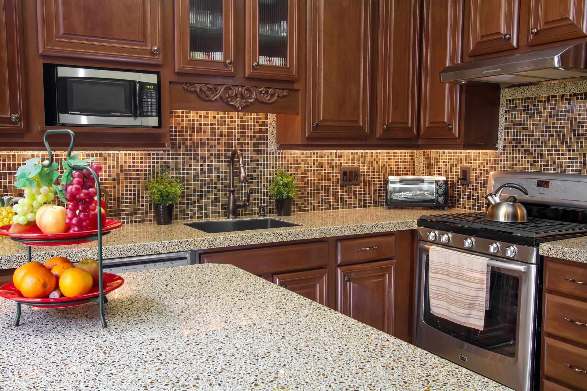 colors countertops for light oak photos with images trends and cabinets granite