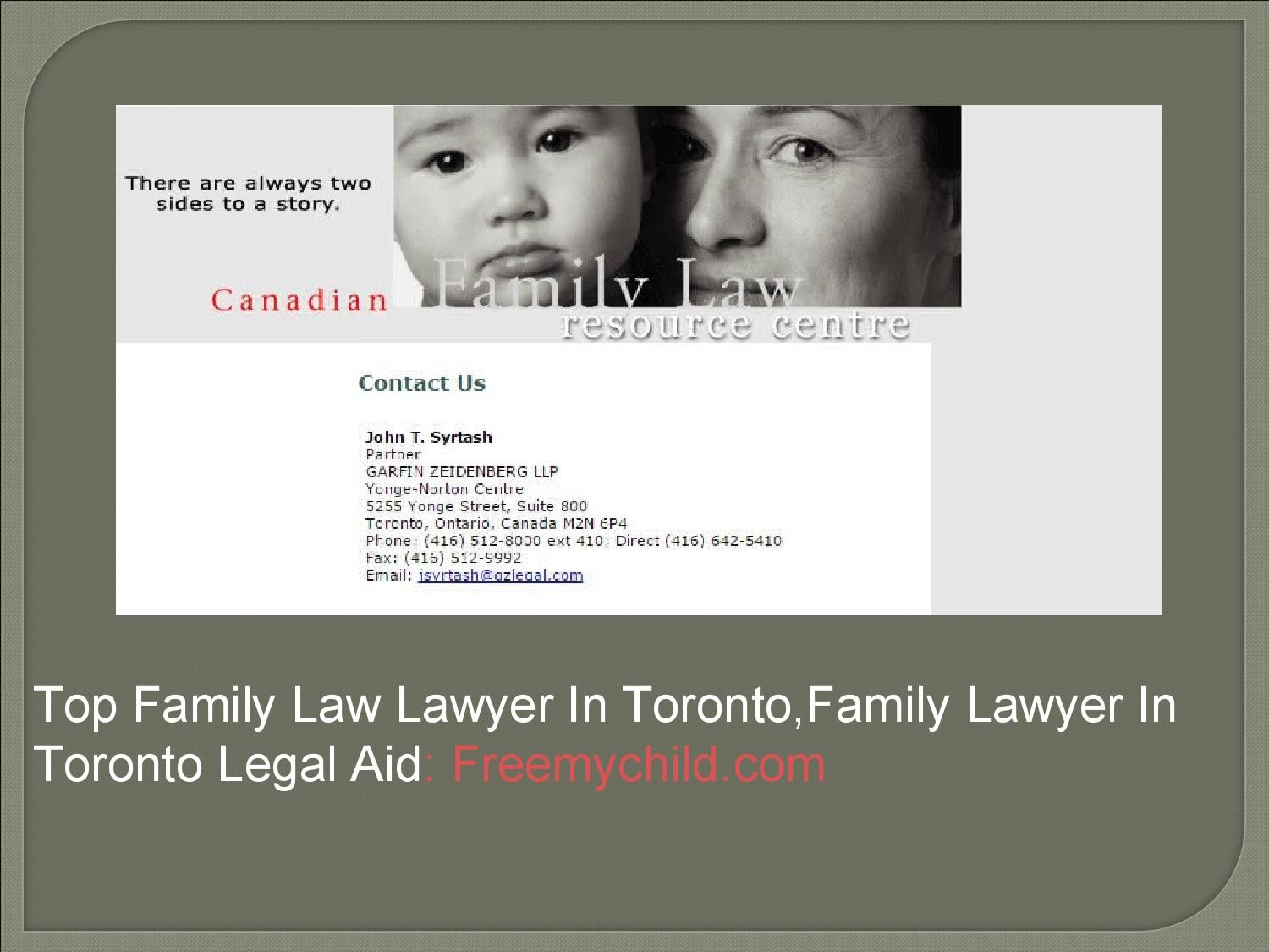 Top Family Law Lawyer In Toronto,Family Lawyer In Toronto