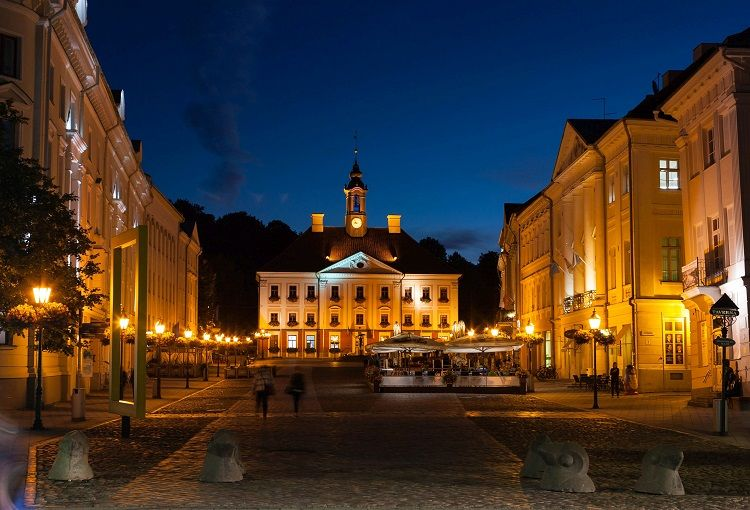 Tartu Town Hall Square (Image Credit: Kalle Paalits)
