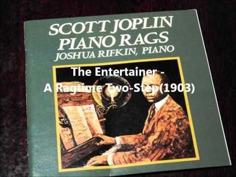 Joshua Rifkin playing famous Scott Joplin rags, the Entertainer, Maple Leaf etc.